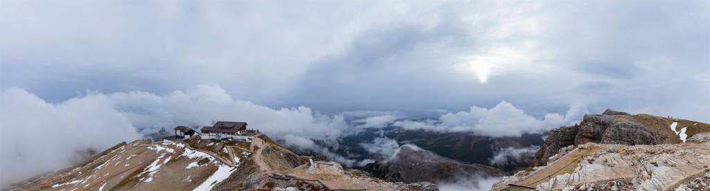 Panoramica dal Lagazuoi